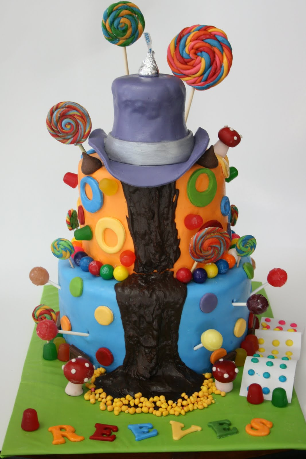 Charlie And The Chocolate Factory Themed Cake
