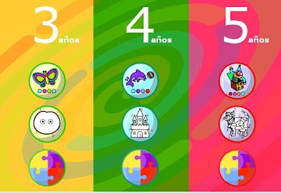 Recursos De Educacion Infantil Juegos Educativos Para 3 4 Y 5 Anos