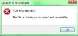 Mengatasi Flashdik Error dan Not Accesible