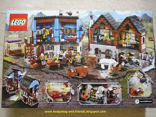hedgehog & friends: Lego Medieval Market Village Review