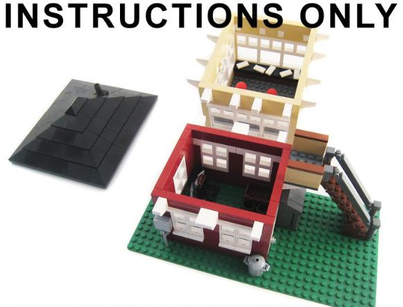 Lego Asia: Lego City Train Station & Train Signal box MOC