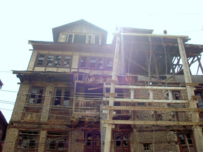 Houses At Habba Kadal Old And New Search Kashmir