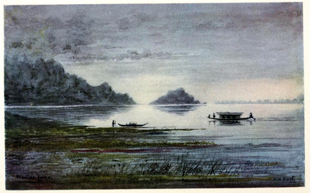 Nightfall on Wular Lake, by Col. H.H. Hart