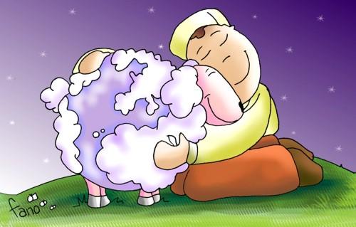 Resultado de imagem para pastor e ovelhas