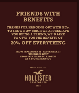 Hollister Co 20 Off Coupon Printable Coupons For Kohls January 2018