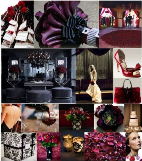 Decorating Ideas Color Inspiration: AART Event Planning: An Elegant Halloween Themed Wedding