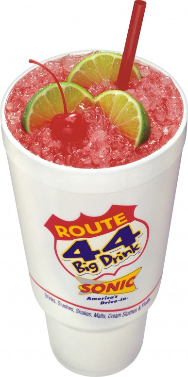 The Fat Boy Diet • Sonic's Cherry Limeade