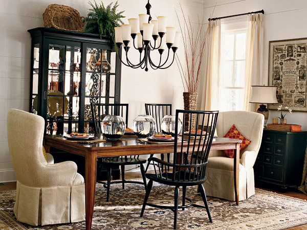 J Adore Decor Cottage Farmhouse Dining Room