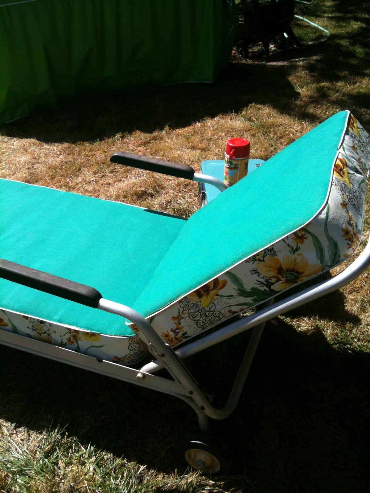 Seattle Junk Love Sold 60 S Vintage Aluminum Chaise
