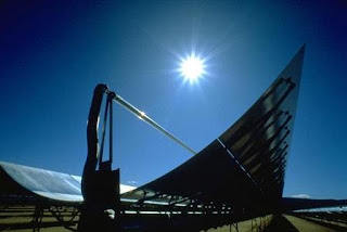 Solar Powered Stirling Engine Generator