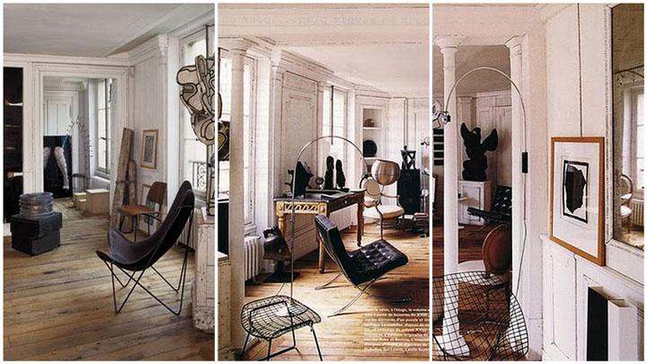 Boiserie c pavimenti in legno e stucchi alle pareti for Interni parigini