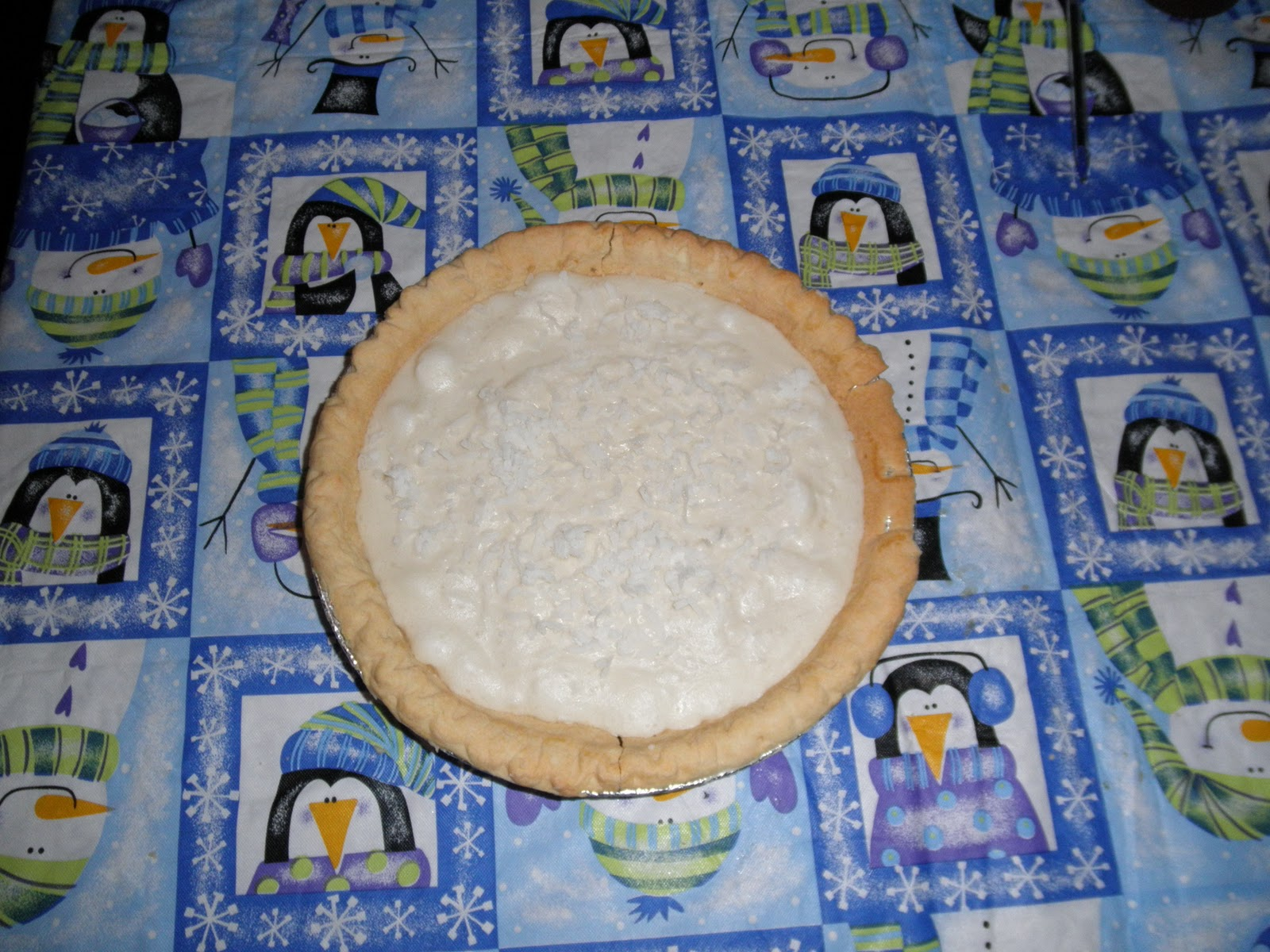 Missy's Homemaking Adventures: White Christmas Pie