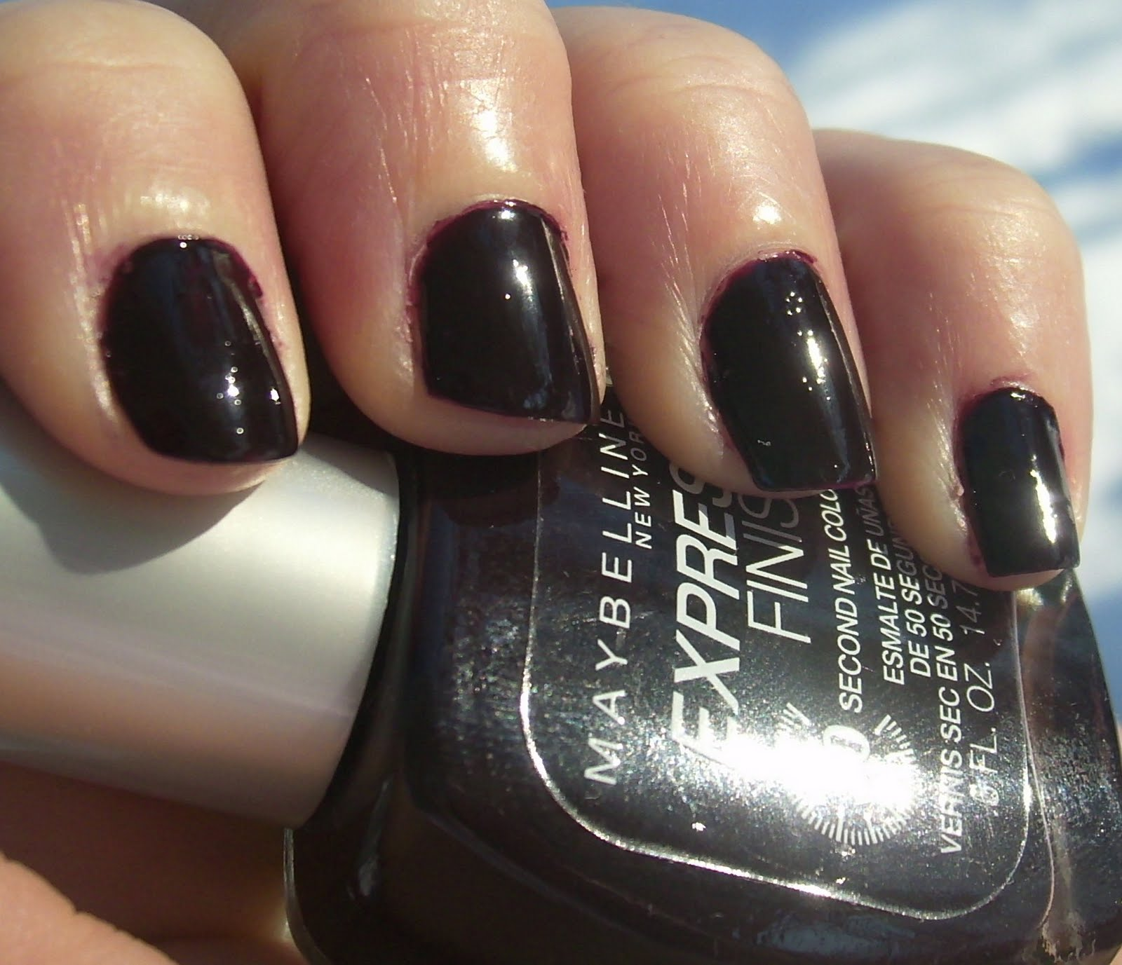 Kitty Luvs Color!: Maybelline Express Finish Nail Polish, Plum ...