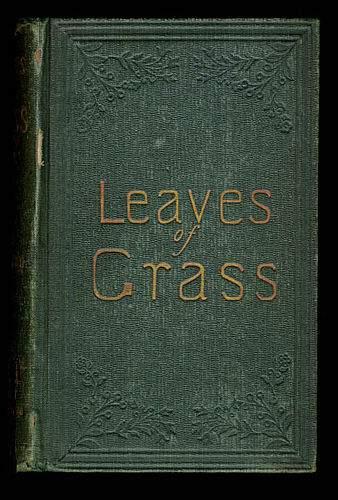 leaves of grass walt whitman - photo #4