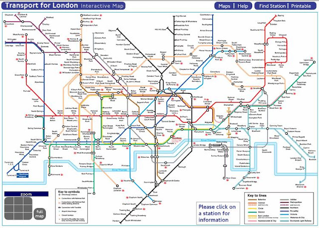 Zones In London Map.Using Tfl Tube Map For London With Zones Timetable From Tfl Gov Uk