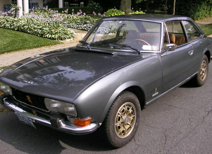 just a car geek 1975 peugeot 504 coupe hmmm. Black Bedroom Furniture Sets. Home Design Ideas