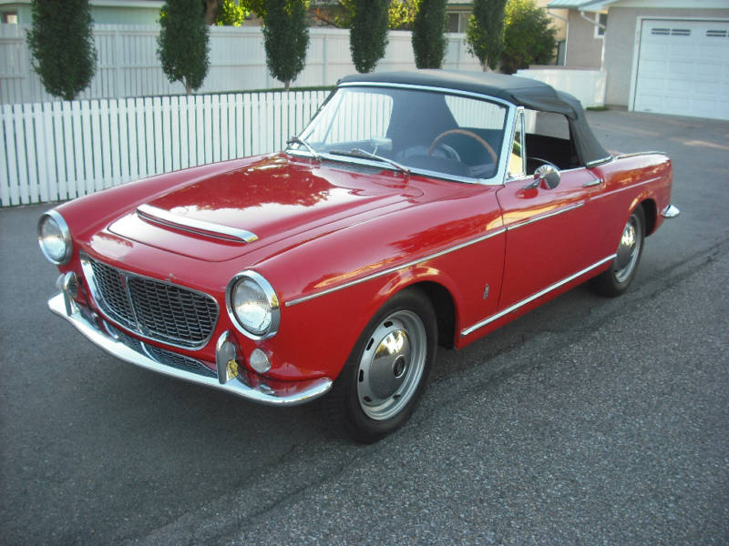 Just A Car Geek 1961 Fiat Osca 1500s An Honest Old Car That Gives