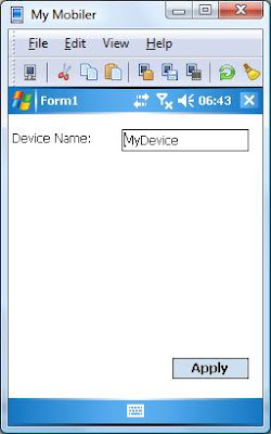 Simon Hart: Setting the name of a Windows Mobile device