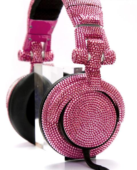 Swarovski Fashion Rocks - DJ Headphones