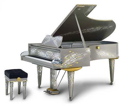 swarovski grand piano