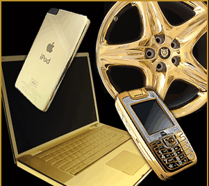 Gold Plating Car Parts In Chicago