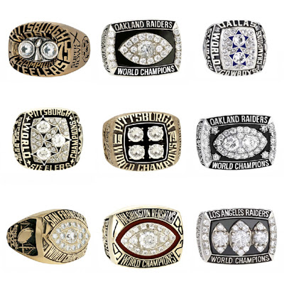 Rings from 1975-1983