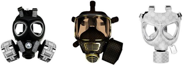designer gas masks by Diddo