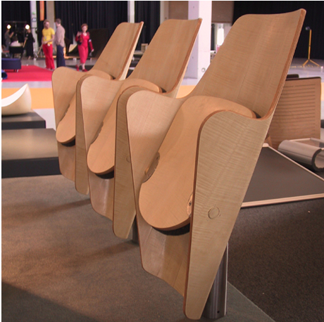 wood theater chairs