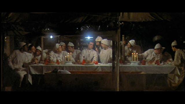 Robert Altman for MASH (last Supper)