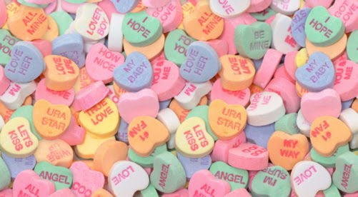 Schön Todayu0027s Best Selling Valentine Candy    Sweethearts Conversation Hearts  The  Pastel Sugar Hearts With The Quirky Sayings, Were As Much A Part Of Your ...