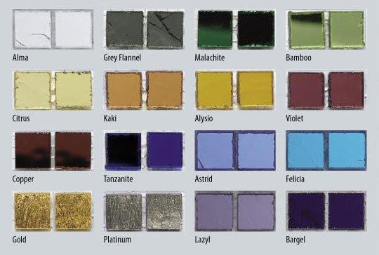mosaic color tiles