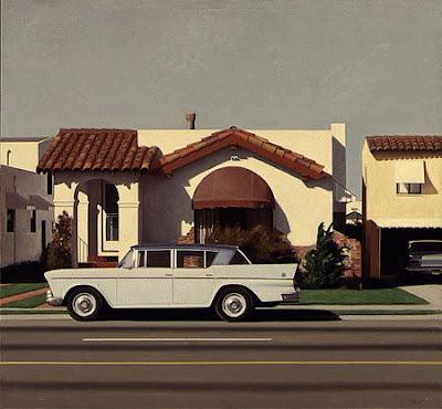 Robert Bechtle painting