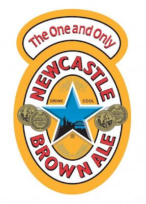"d4896c1049a4e8 above  the actual Newcastle Brown Ale label """