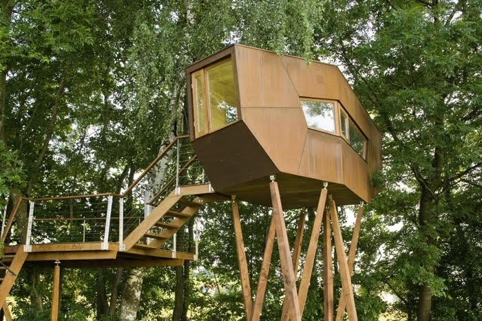 The Sustainability Treehouse by Mithun Is 5 Stories of Ening ... on