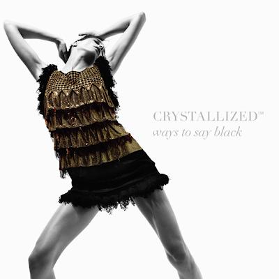 little black dresses CRYSTALLIZED