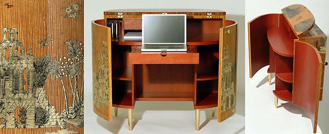 """CHEST desk """"Grand Coromandel"""""""
