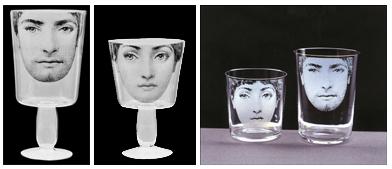 fornasetti glassware