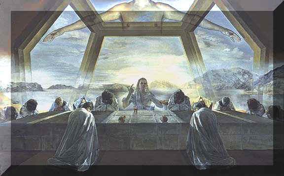 Salvador Dali's The Sacrament Of The Last Supper, 1955