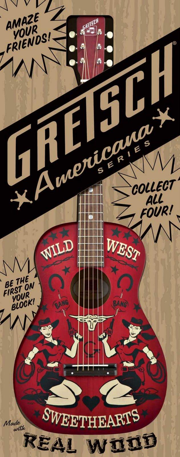 gretsch guitar packaging