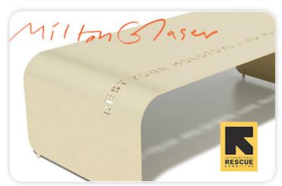 Milton Glaser - Milton Glaser, Inc., New York - for International Rescue