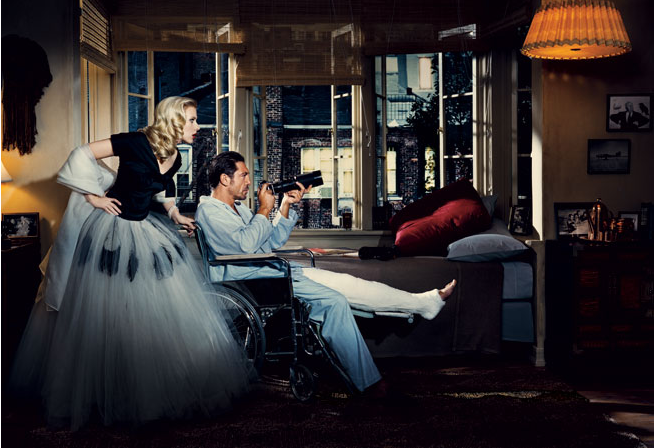 Above: Scarlett Johansson and Javier Bardem. Photograph by Norman Jean Roy.