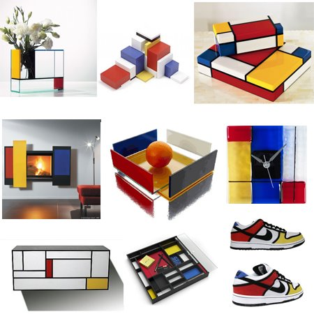 If It's Hip, It's Here (Archives): Mondrian Madness: In Furniture, Shoes,  Home Decor & More.