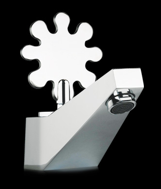 Grazie water tap by Alessandro Mendini for JL Baril