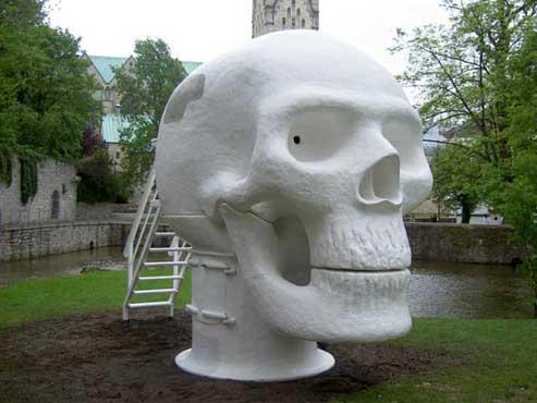 Joep van Lieshout wellness skull