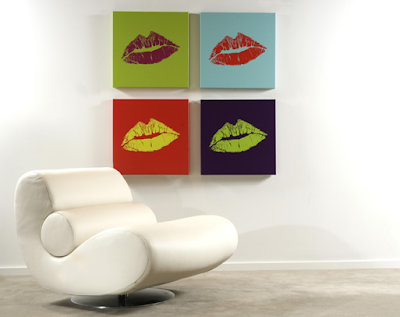kiss prints made from your own lips