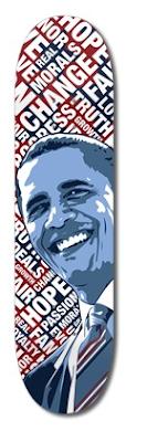Sin City Obama Skateboard deck