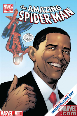 Spidey Meets the President