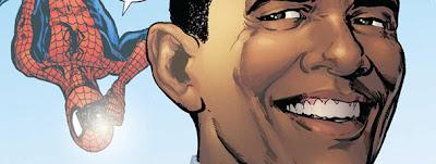 Obama Marvel Comic Book