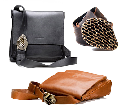 leather bags and belts