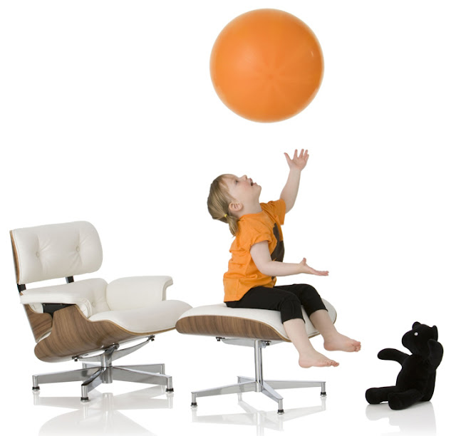 eames lounge for children